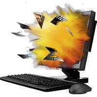 blow up computer